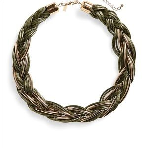 Top shop Braided Collar Necklace